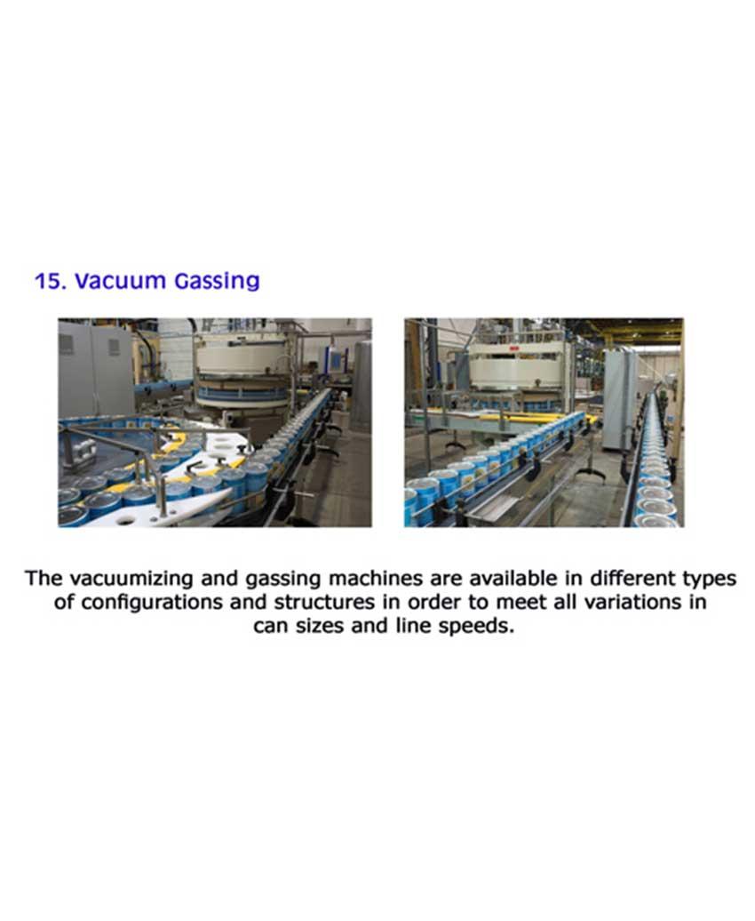 Vacuum Gassing